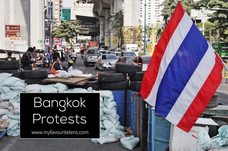Bangkok Protests | a photography blog from My Favourite Lens
