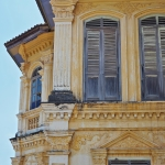 colonial building phuket town thailand