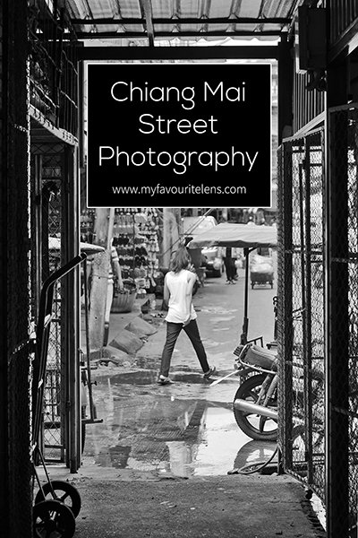 Shooting monochrome street photography in a place as colourful as Chiang Mai might seem a waste, but it can help give a different feel to the images you get during your time there. The question is, where in Chiang Mai should you go and shoot? I could suggest the entire city if you have the time to cover it, as every area offers something different, but that would be impractical to most. Instead, here's a couple of suggestions that can be covered in one day, with plenty of time left for that amazing Thai food.