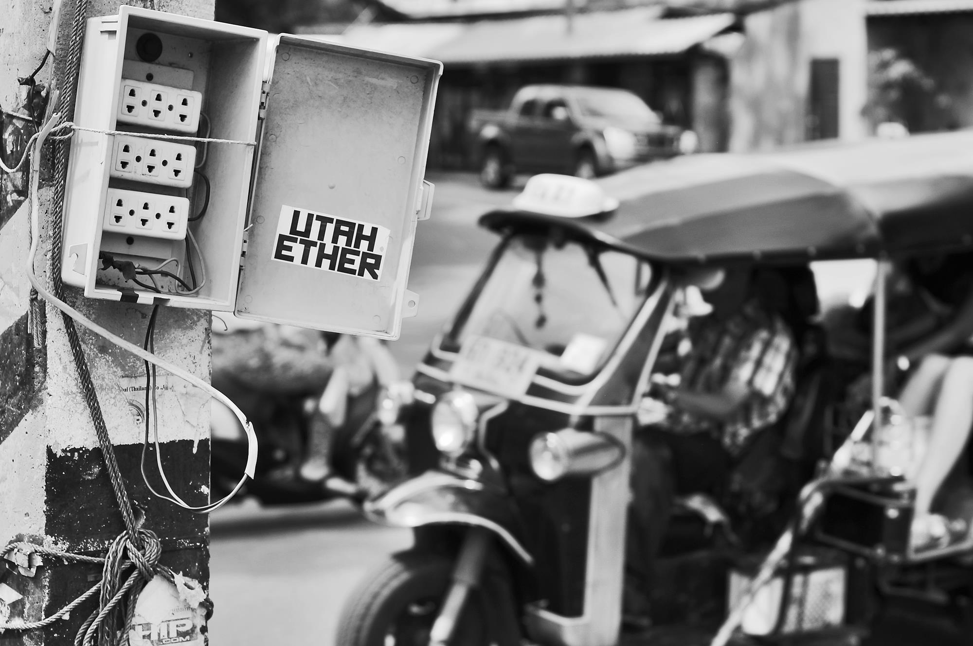 monochrome tuk uk in chiang mai