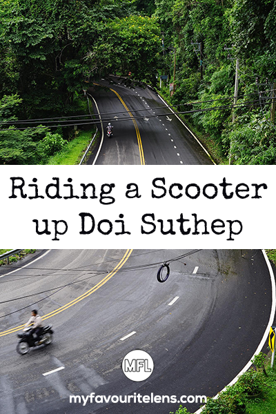 Chiang Mai is a great city, but you need to explore the surrounding area to get the best of it. Riding a scooter up to Wat Phra Doi Suthep is a must do.