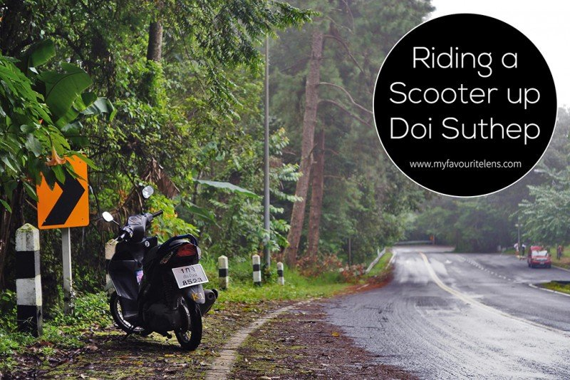 Riding a Scooter up Doi Suthep | a travel blog from My Favourite Lens