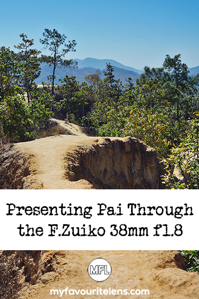 A small tourist town in northern Thailand, chilled-out Pai made an ideal model for a day shooting with the F.Zuiko 38mm f1.8 - come see the results here!