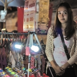vendor at chiang mai night market