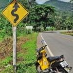 chiang mai to pai on scooter