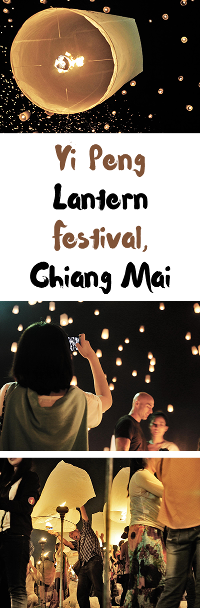 Yi Peng, the Chiang Mai lantern festival, is one of Thailand's most photographed festivals. I tried to capture the event as much as the thousand lanterns.