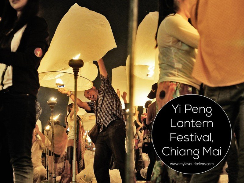Yi Peng Lantern Festival, Chiang Mai | a travel photography blog from My Favourite Lens