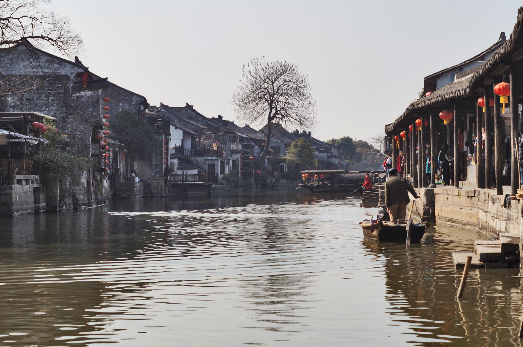 xitang water town china