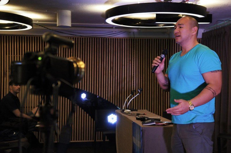 Shooting the Chiang Mai Nomad Summit