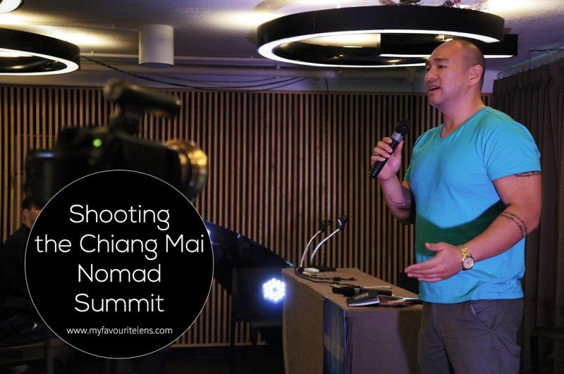 Shooting the Chiang Mai Nomad Summit | a blog post from My Favourite Lens