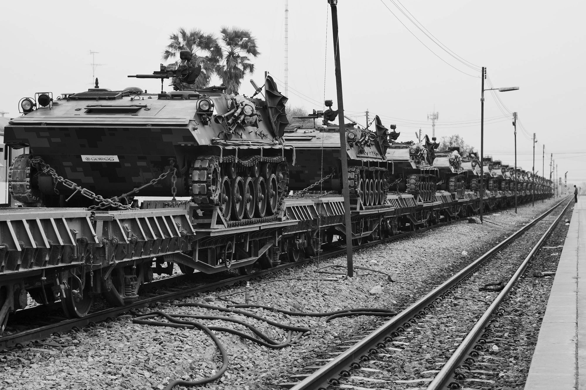 thailand tanks train station