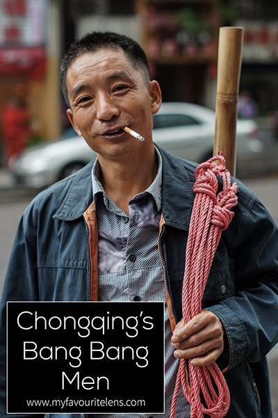 Chongqing's bang bang men are as iconic as the city's spicy food and its mei niu. Want to know exactly who they are and what they do? Come read this photoblog on them.