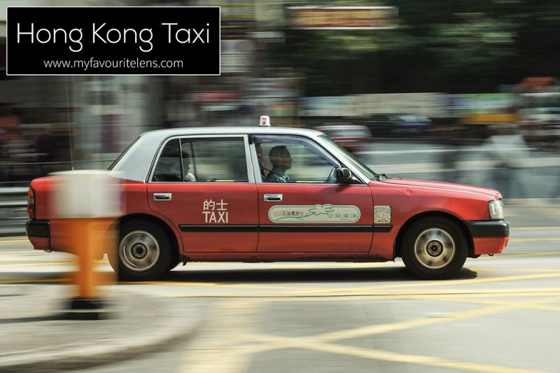 Hong Kong Taxi | a blog post from My Favourite Lens
