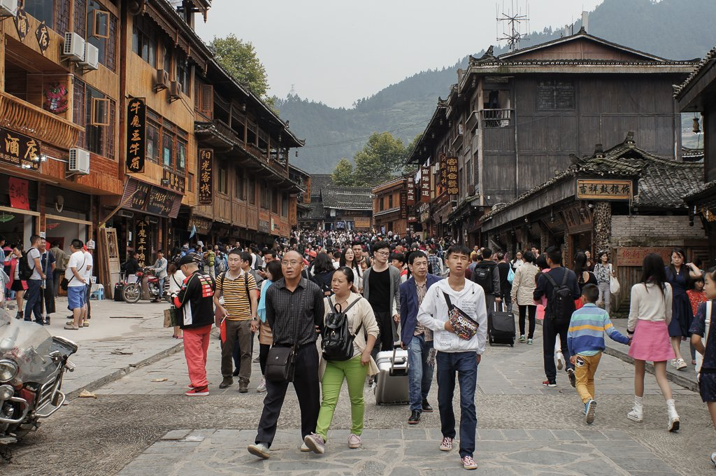 xijiang village chinese tourist street