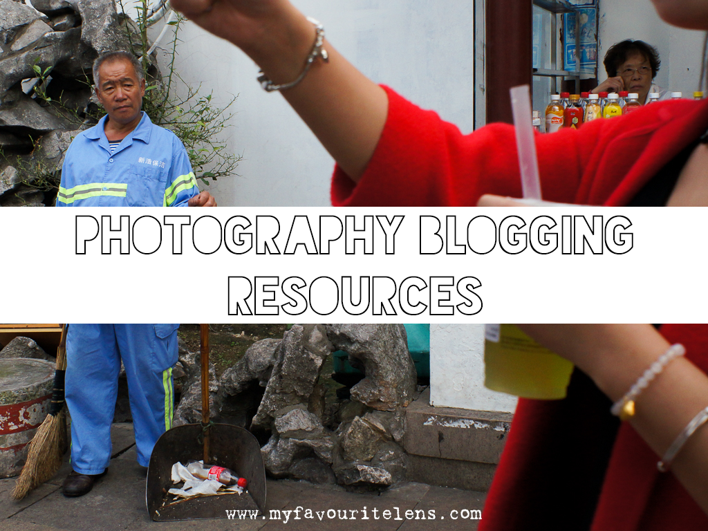 photography blogging resources