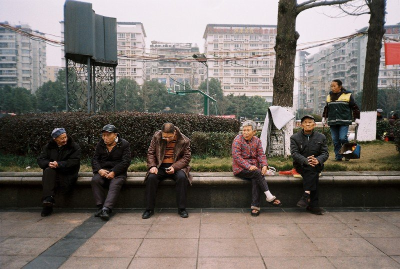 Testing the Canon Sure Shot AF-7 @ Airport Square, Chongqing pt.1