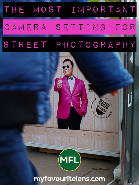 Got a new camera and don't know how to use it? Need help? Come read this and learn the single most important camera setting for your street photography.