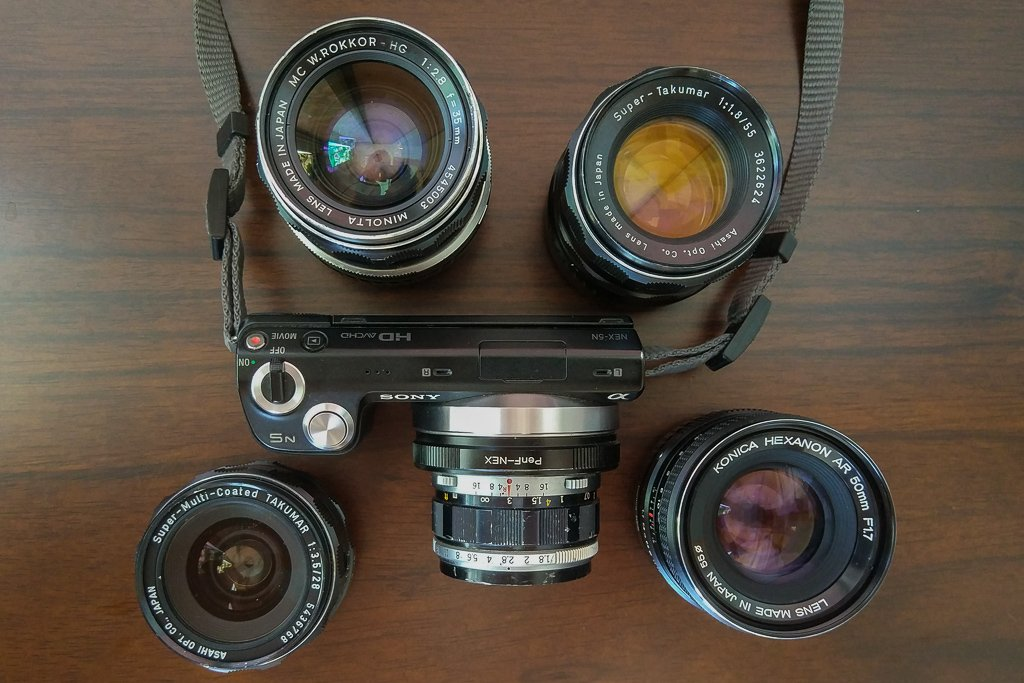 How to Use Vintage Lenses on Your Digital Camera