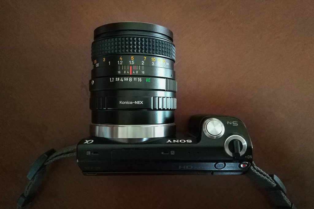 Konica Hexanon AR 50mm f1 7 Lens Review - My Favourite Lens