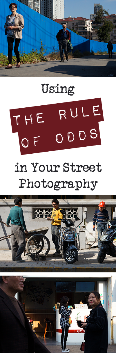 The rule of odds is an art composition tip far older than any camera. Come learn how it can improve your street photography from today and forever more.