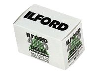 Ilford 1748192 Delta Pro 400 Fast Fine Grain Black and White Film, ISO 400, 35mm, 36 Exposures