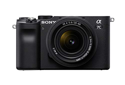 Sony Alpha 7C Full-Frame Compact Mirrorless Camera Kit - Black (ILCE7CL/B)
