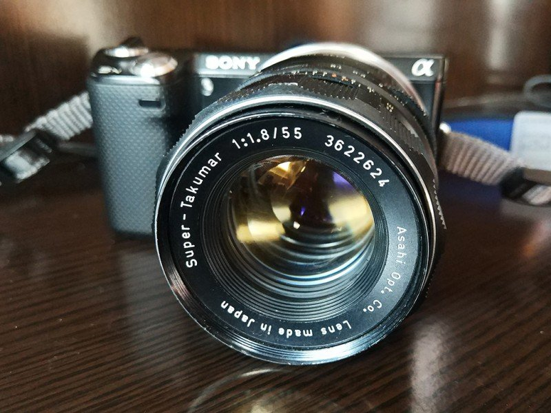 Super-Takumar 55mm f1.8 Lens Review