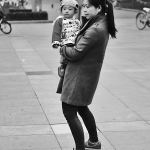 mother and child in shanghai