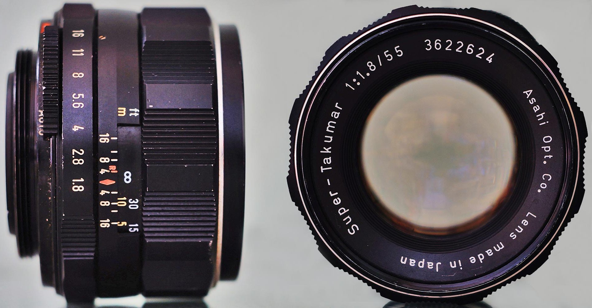 super takumar 55mm f1.8 lens