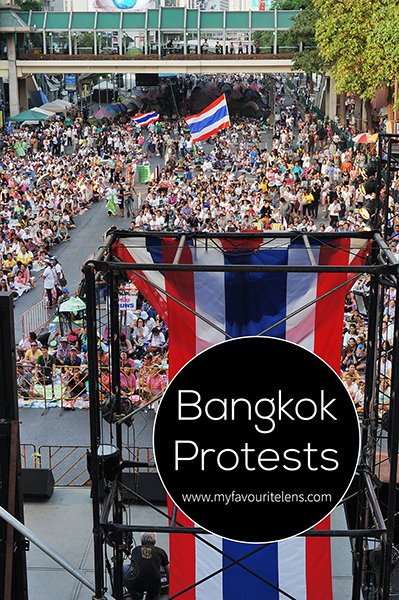 The 2014 Bangkok protests were just the latest in a long line of public demonstrations in the Thai capital. Come read my eye-witness account and see the pictures I took.