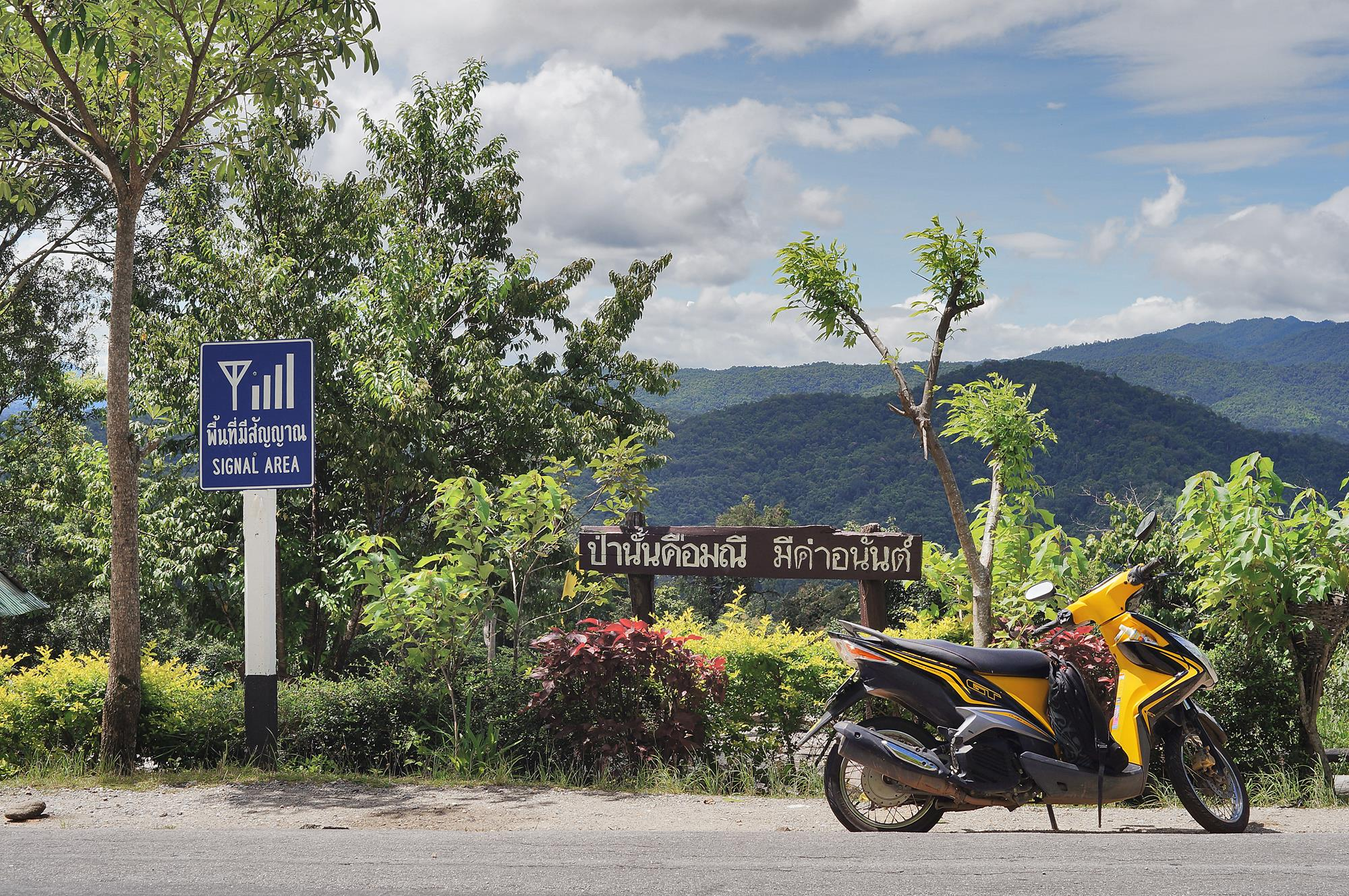 motorcycle chiang mai to pai
