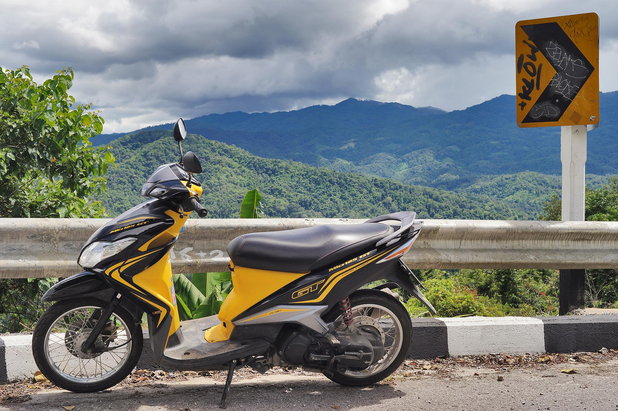 Chiang Mai to Pai on the Wasp