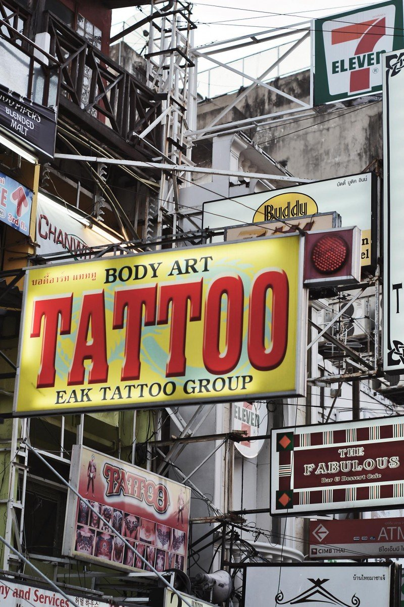 khao san road tattoo