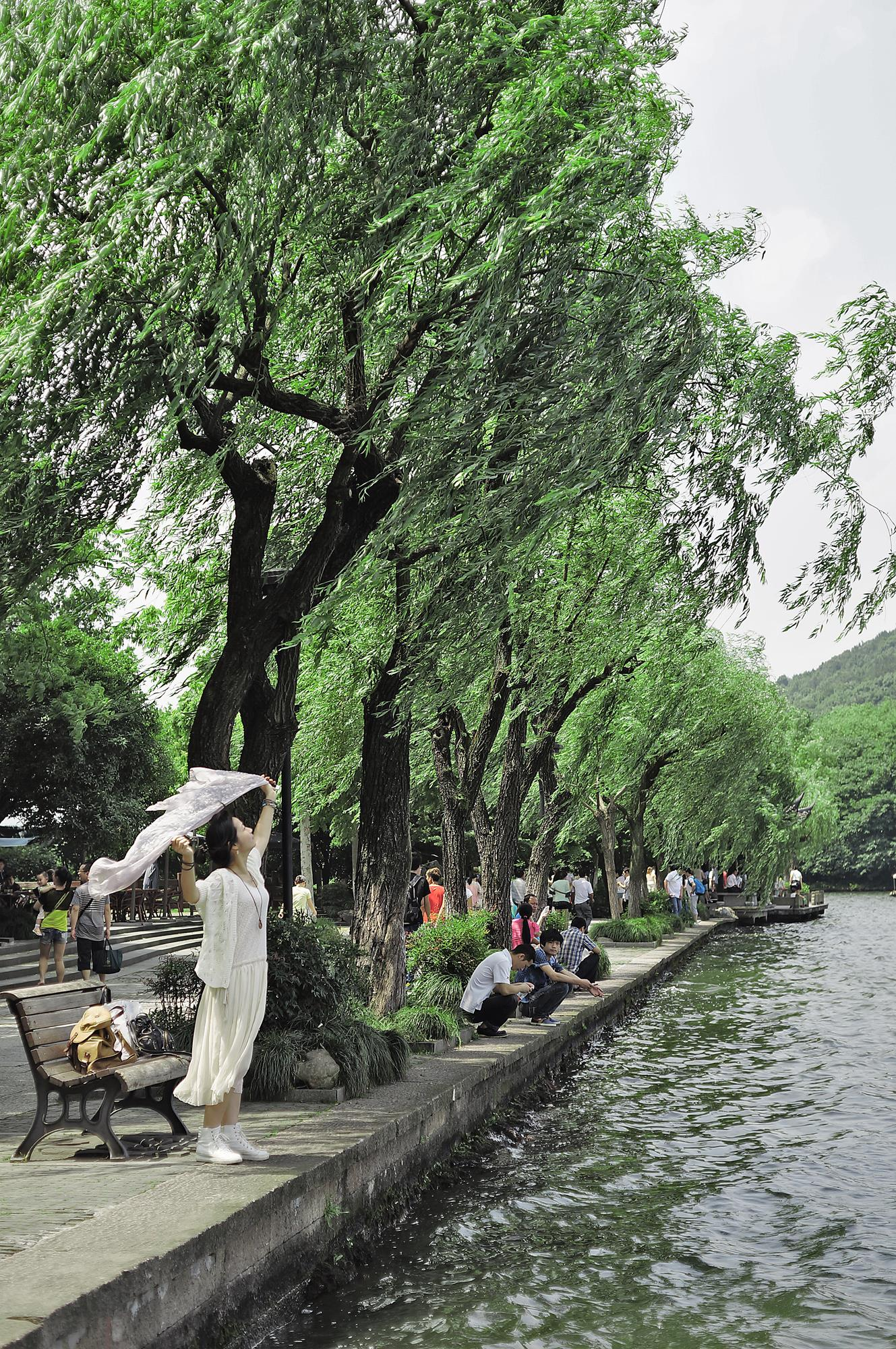 hangzhou west lake china tourist