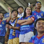 fans at chiang mai fc game