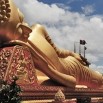 big buddha in vientiane laos
