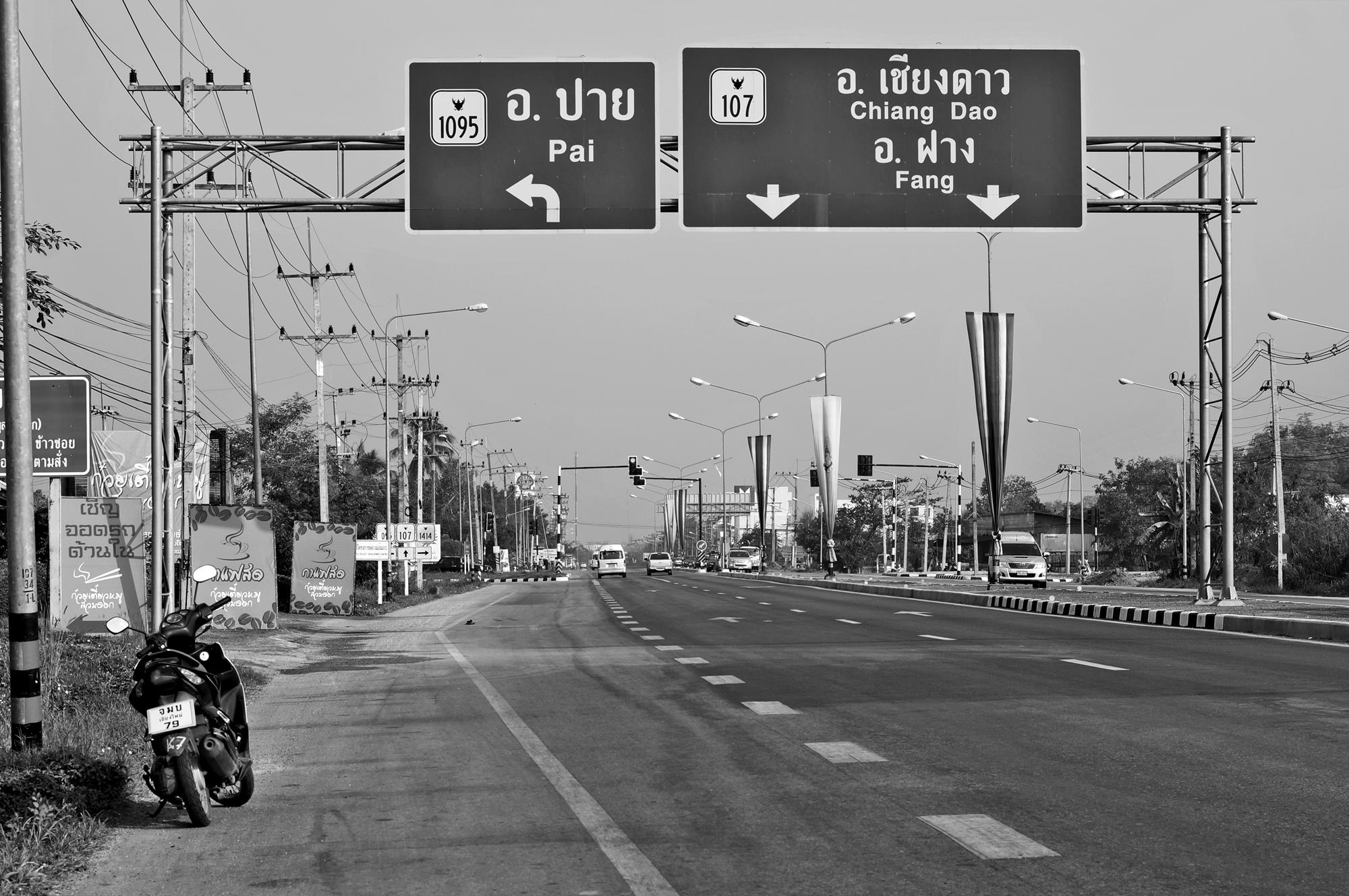 chiang mai to pai scooter