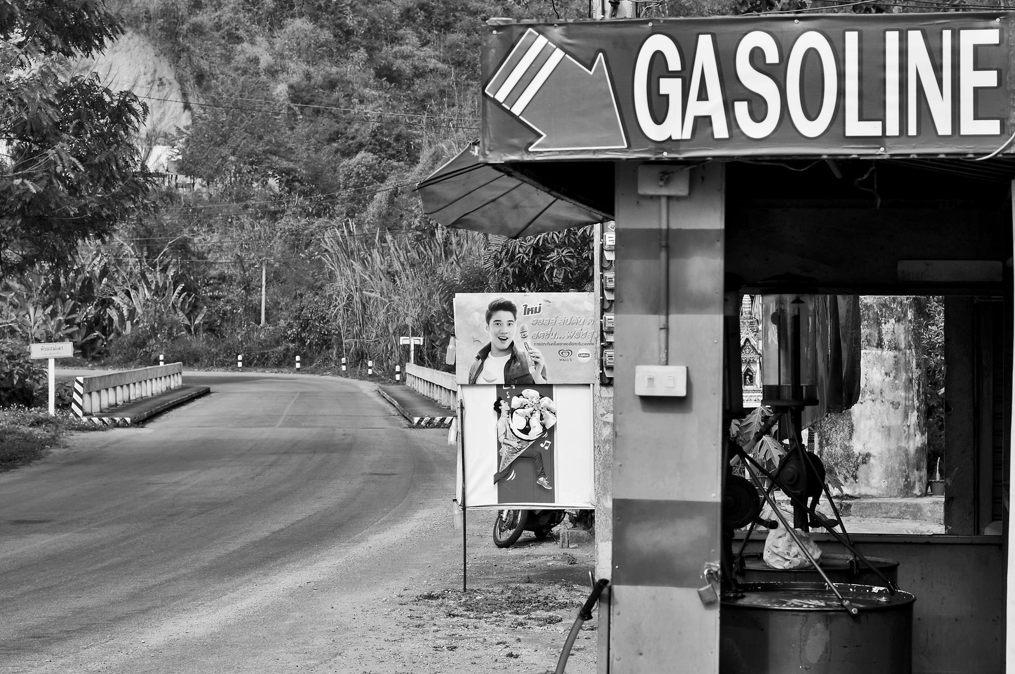 gas station chiang mai to pai