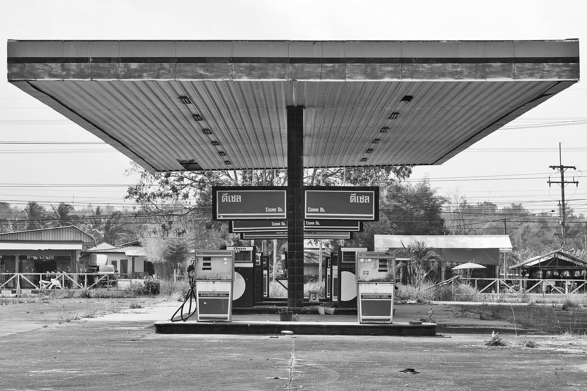 chiang mai old gas station