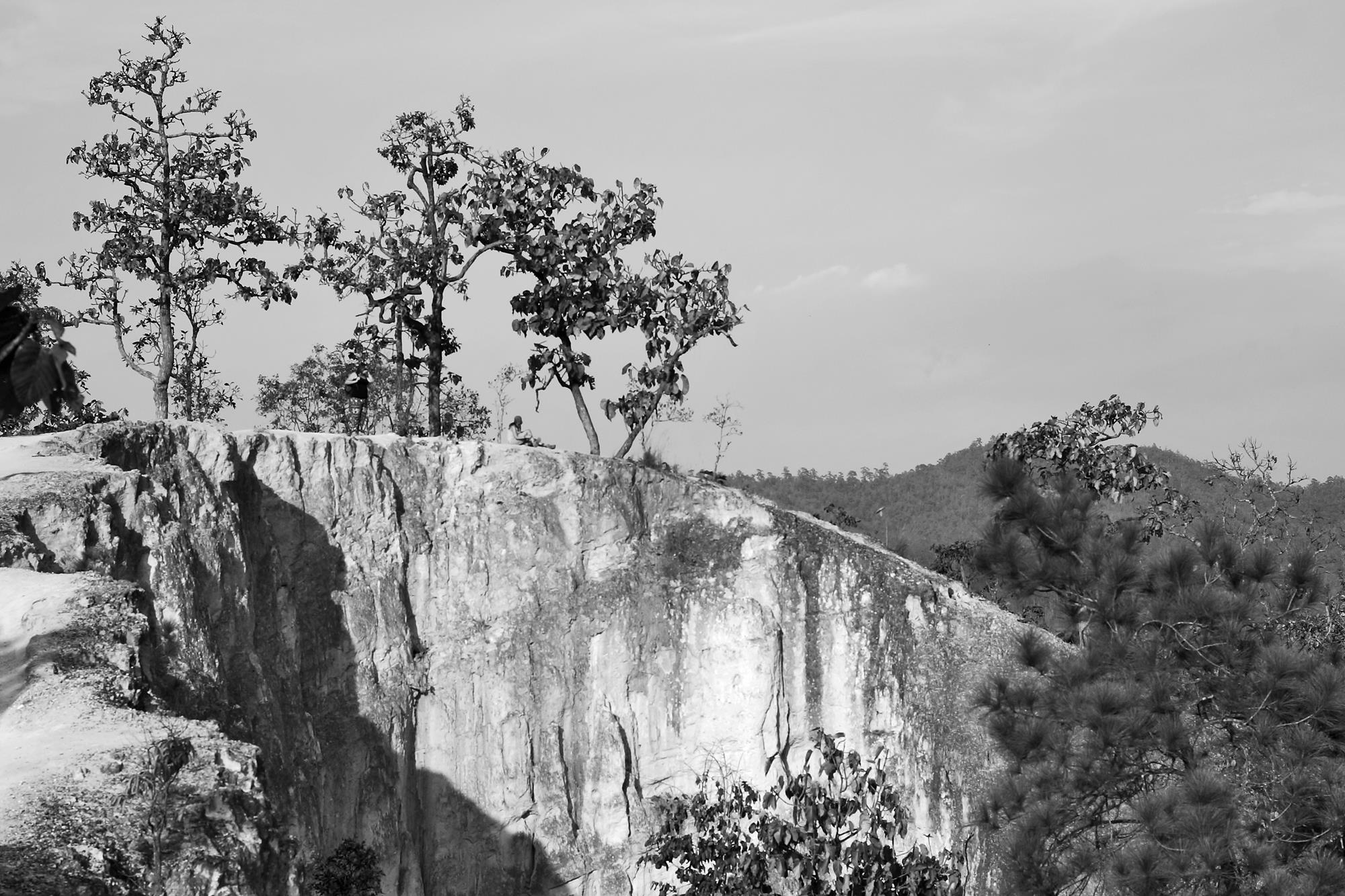 pai canyon monochrome