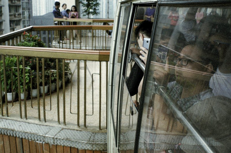 Checking out Chongqing's Cable Car