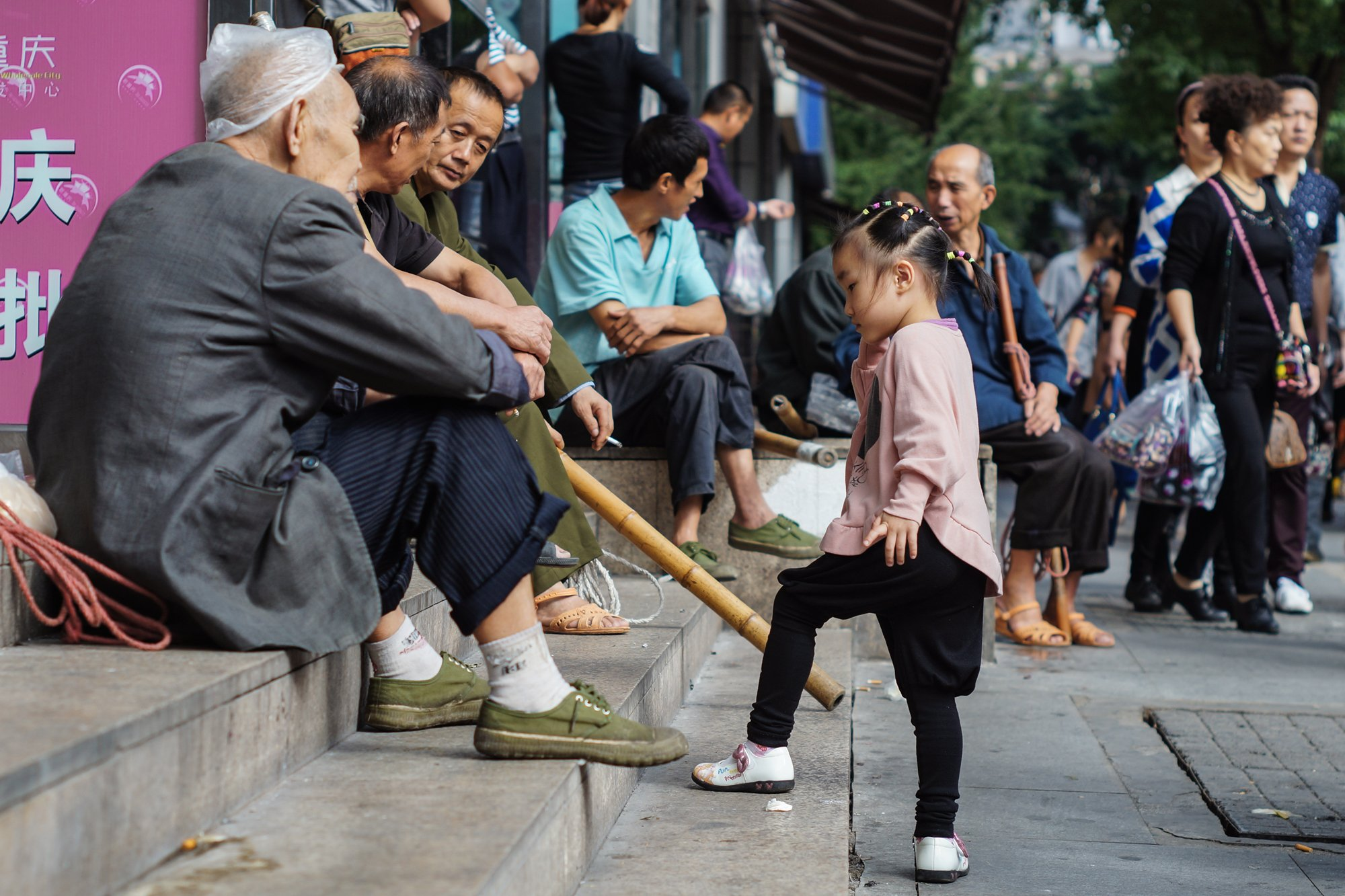 young old china