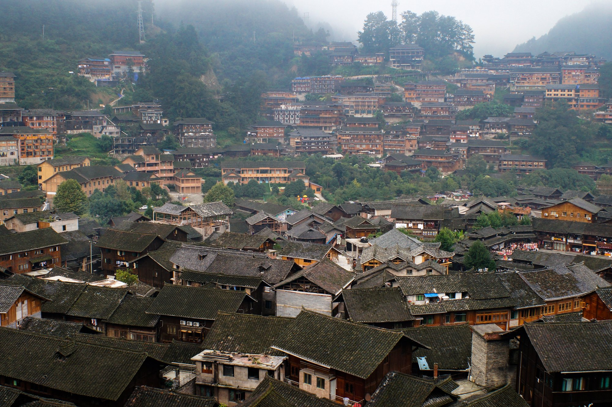 chinese rural village