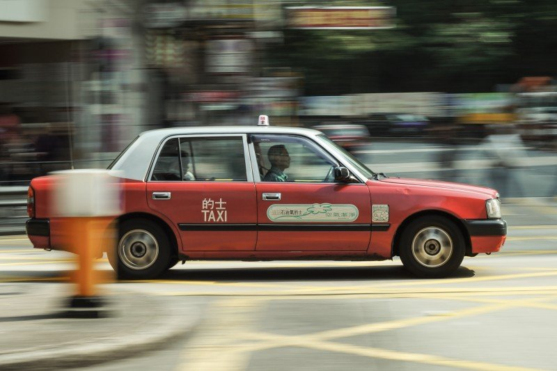 Hong Kong Taxi [Super-Takumar 55mm f1.8]