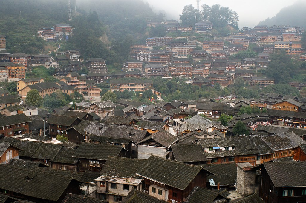china miao minority village