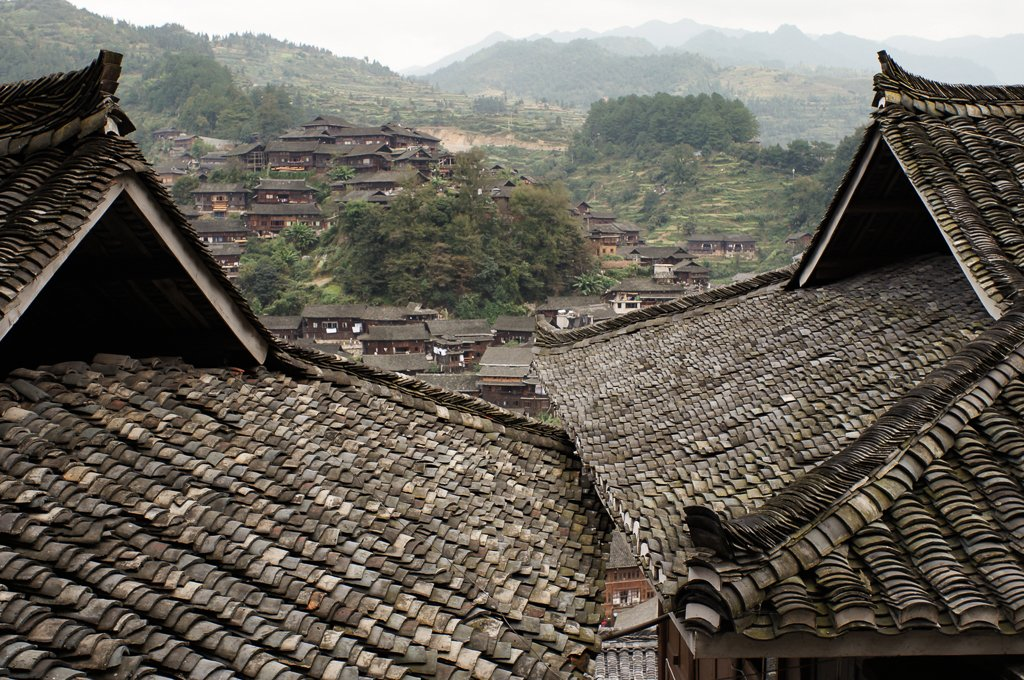 china village roof