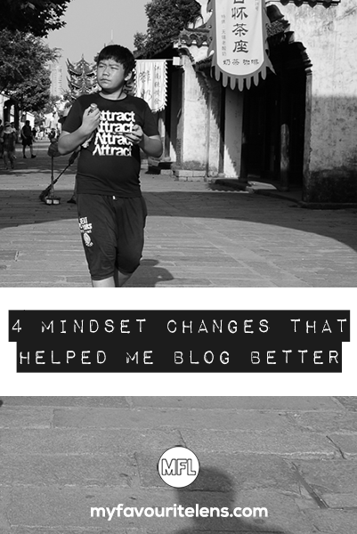 blogging mindset changes