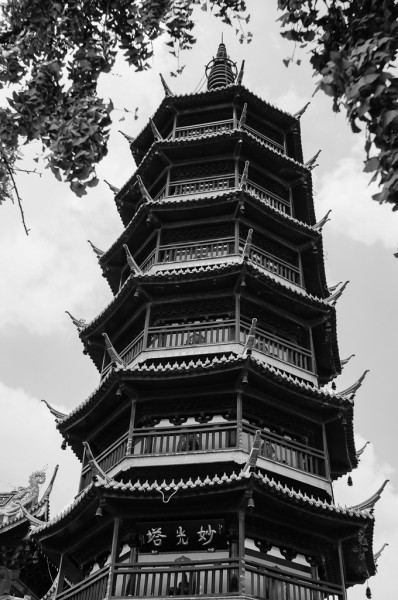 nanchan temple pagoda wuxi china