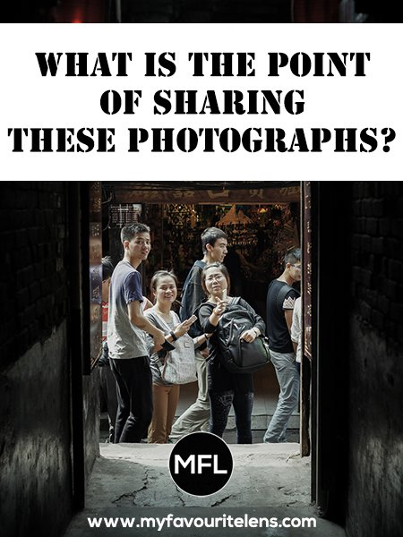 What is the point of sharing photographs online? If you're not a blogger, you may be surprised to learn the real value in doing so. Come learn here!