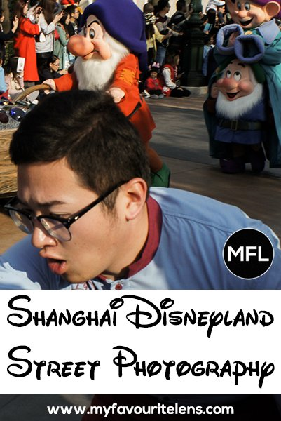 Shanghai Disneyland street photography: not your usual pictures from a theme park. Going there yourself? Come take an alternative look at what to expect.
